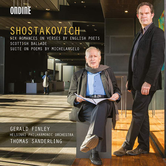Shostakovich: Songs for Bass Voice and Orchestra