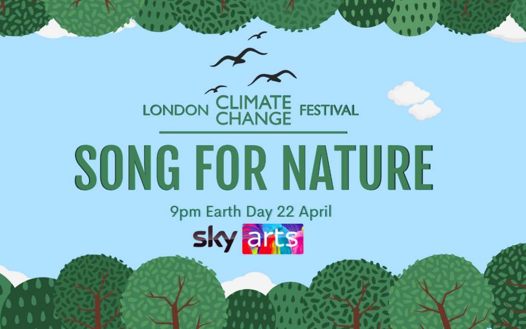 Watch Gerald Finley in a Special Earth Day Concert – SONG FOR NATURE – 22 April at 21:00 BST on Sky Arts